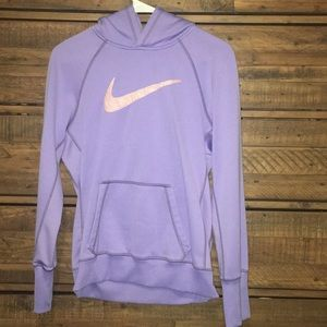 Purple Nike sweatshirt